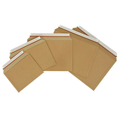 Capacity Book Mailers Cardboard Royal Mail PIP Large Letter Size Envelopes A4 A5