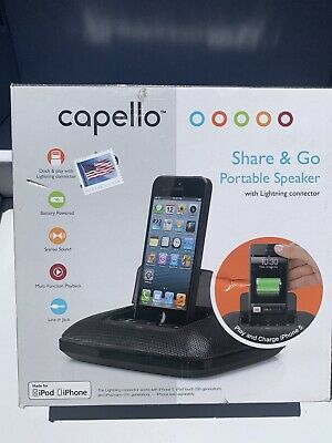capello  Micro Speaker Dock with Lightning Connector - For iPhone And iPod