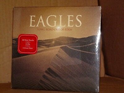 EAGLES Long Road Out of Eden  2CD Digipack  NUOVO SIGILLATO!!!