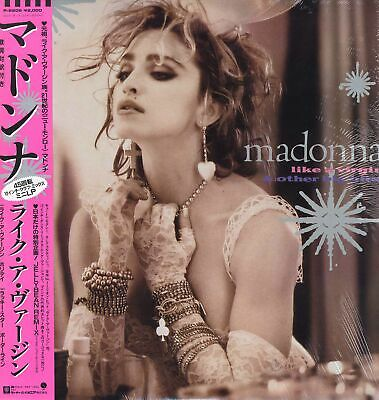 Madonna - Like A Virgin & Other Big Hits '85 EP JAPAN ORG!! with OBI