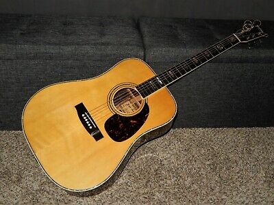 Made In 1972 - Kiso Suzuki W350 -  Absolutely Superb D45 Style Acoustic Guitar
