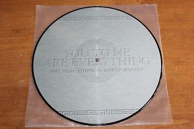 The Real Thing vs. Daren Deezer  - German Picture Disc / You To Me Are Everythin