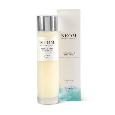 Neom Bedtime Hero Bath Foam new stock 200ml boxed