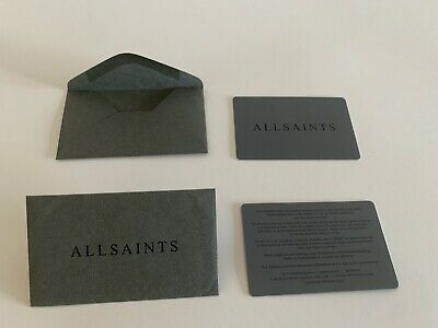 All Saints Instruction Care Manual & Tags