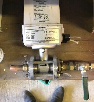 Siemans Sitrans F M Mag 6000 Flow Transmitter - Working condition