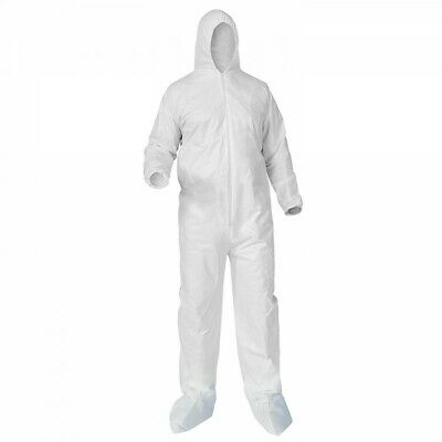 Coverall Protective Suits 3XL w/ Elastic Sleeves *1 SUIT*