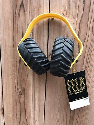 New Monster Truck Jam Child Hearing Sound Protection Ear Muffs Head Phones