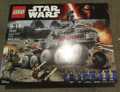 LEGO #75151 Star Wars Clone Turbo Tank Clone Wars Episode II NEW SEAL
