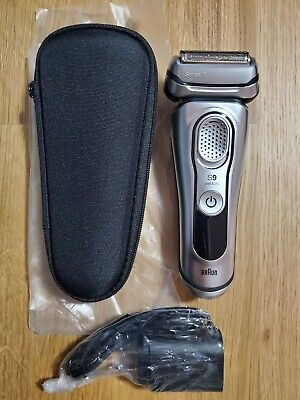 BRAND NEW Braun Series 9 9330s Men's Electric Shaver Wet and Dry NO BOX- SILVER