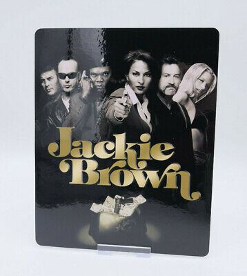 JACKIE BROWN - Glossy Bluray Steelbook Magnet Magnetic Cover (NOT LENTICULAR)