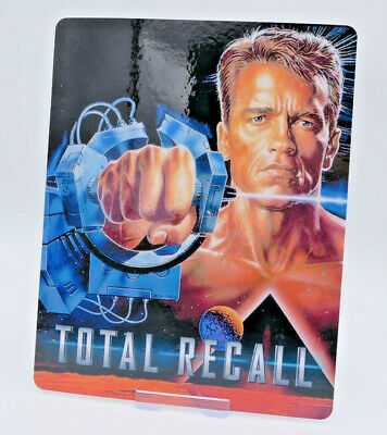 TOTAL RECALL - Glossy Bluray Steelbook Magnet Magnetic Cover (NOT LENTICULAR)
