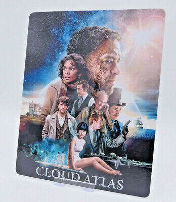 CLOUD ATLAS - Glossy Bluray Steelbook Magnet Magnetic Cover (NOT LENTICULAR)