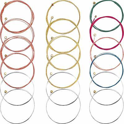 Full Set of 6 Steel Replacement Guitar Strings for Acoustic Classical Guitars UK