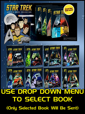 Star Trek The Graphic Novel Collection - Eaglemoss - Licensed by IDW Comics New