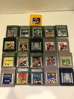 Huge Lot Nintendo Gameboy Video Games Tested Work