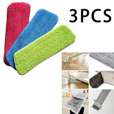 3x Cleaning Mopping Pads Replacement Floor Walls Furniture Cleaner Accessories
