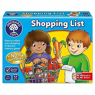 Orchard Shopping List Game