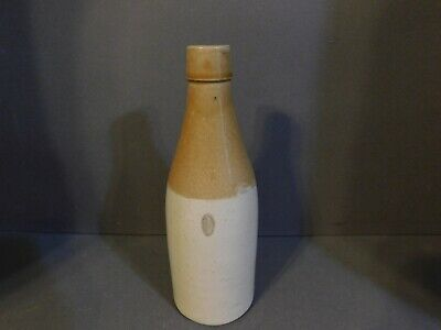 Antique Ginger Beer Stone Ware Bottle Kennedy Barrowfield Glascow Scotland