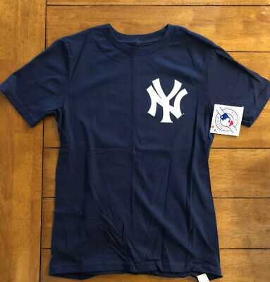 MLB Majestic Player Name & Number Jersey T-Shirt Collection Youth Size (10-12)