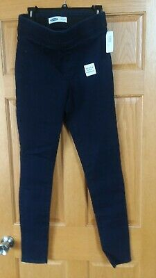 SOLD DESIGN LAB SKINNY STRETCH STRAIGHT PULL ON DARK GRAY//BLACK PANTS JEGGINGS