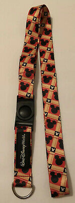 Walt Disney World Parks Trading Pin Lanyard Mickey Ears New