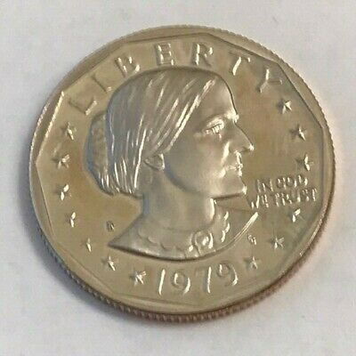 1979 S Susan B Anthony Dollar Coin Proof Type 1