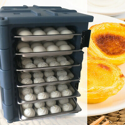 Insulated Catering Hot Cold Chafing Dish Food Pan Carrier Box Commercial 90L