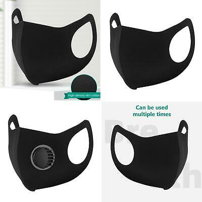 Pm2.5 Anti Air Pollution Haze Face Cover Respirator Mouth Valved Filter Useful