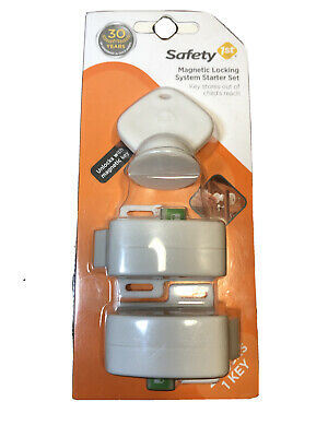 Safety 1st HS132 (HS1320500)  Complete Magnetic Locking System New Sealed