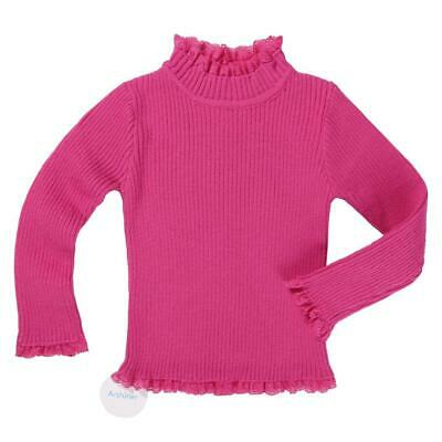Arshiner Kids Girl's Wear Long Sleeve Stand Neck Pure Color Warmer Lace TI0S