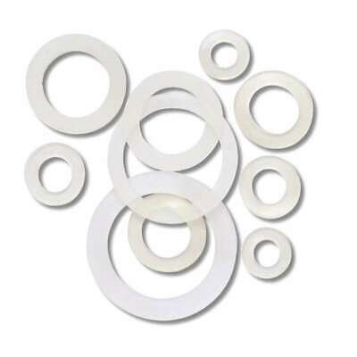 Gasket Rubber Clear for Fittings Sanitary d.2X2 , 5 100 Pieces