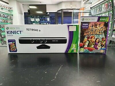 Xbox 360 Kinect Sensor with Kinect Adventures - FAST & FREE DELIVERY