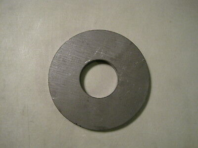 """1/4"""" Steel Plate, Disc Shaped, 4.00"""" OD x 2.00"""" ID, A36 Steel, Washer, Ring"""