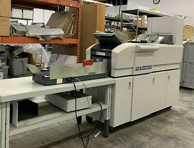 Maximailer PFE Mail Insertion Machine letter fold & insert in to Your envelope