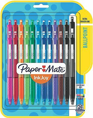 Paper Mate InkJoy 300RT Retractable Ballpoint Pens, Medium Point, 10 Ink