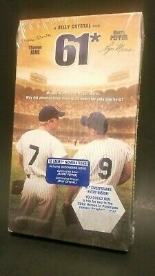 61* VHS Mickey Mantle & Roger Maris exciting battle for home run title- NEW