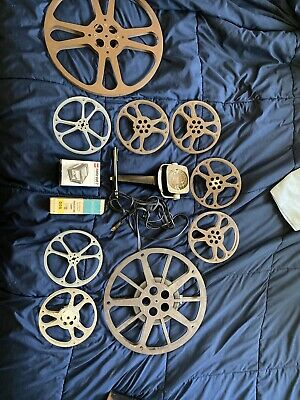 Vintage Film And Camera Items
