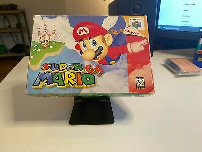Super Mario 64 Nintendo 64 N64 Authentic Tested CIB Complete In Box First Print