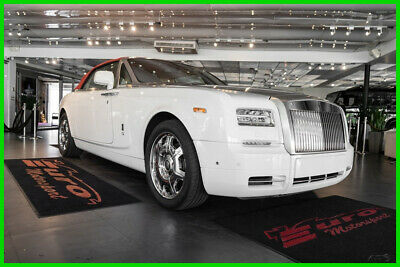 2013 Rolls-Royce Phantom  WHITE OVER TAN HIDES ABSOLUTELY STUNNING ONLY 5K MILES PRICED 4 QUICK SALE!