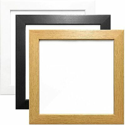 Frame Frames Picture Photo Square Black White A2 A3 A4 Poster A5 Oak Effect 30mm