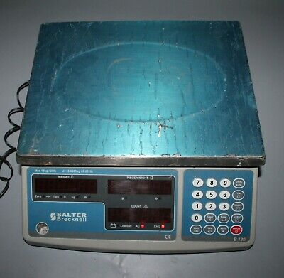 Salter Brecknell B130 Weighing & Counting Scales 15kg Capacity