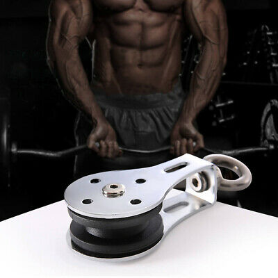 For Fitness Lifting Cable Bearing Pulley Home Gym Stainless Steel Accessories