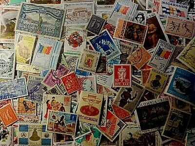 Lot of 202 WORLDWIDE STAMPS , USED UNHINGED, LH,MLH MNH