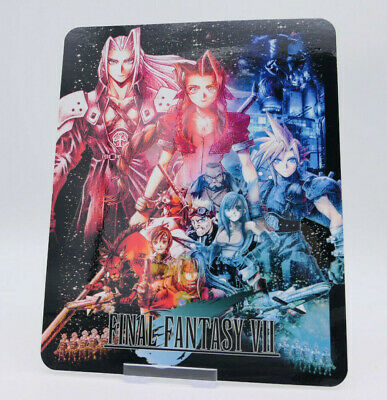FINAL FANTASY VII 7  - Glossy Bluray Steelbook Magnet Cover NOT LENTICULAR