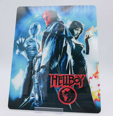 HELLBOY - Glossy Bluray Steelbook Magnet Cover NOT LENTICULAR