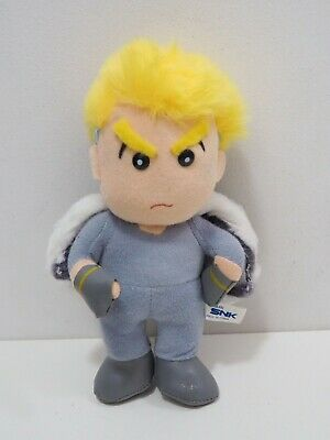 """Fatal Fury King Of Fighters 1995 Geese Howard SNK Plush 9"""" Toy Doll Japan"""