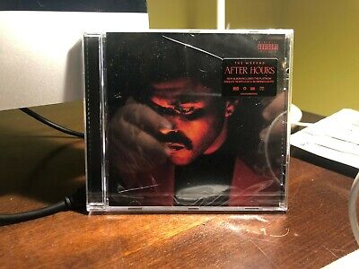 the weeknd - after hours cd sigillato mai aperto!