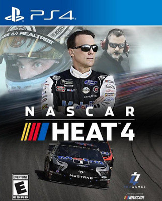 NASCAR Heat 4 (Sony Playstation 4, 2019)