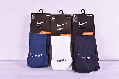 Youth Nike Classic Cushioned Over the Calf Soccer Socks - Choose Size & Color