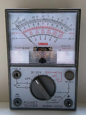 Genuine Yamaha Pocket Tester -  Multimeter 90890-03112..